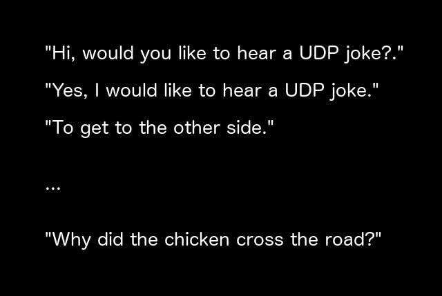 UDP Joke