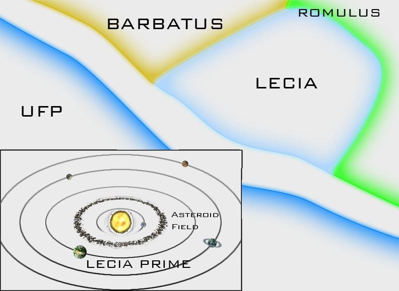Lecia Map
